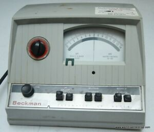 Beckman Zeromatic Ph Meter