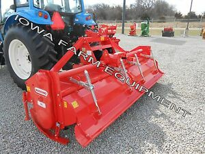 Rotary Tiller Heavy Duty Maschio Sc300 123 Tractor 3 pt Pto 170hp Gearbox