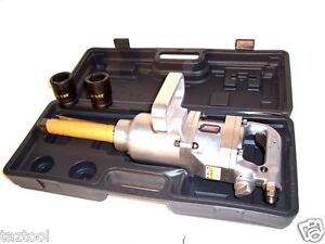 Air Impact Wrench Long Shank 1900 Ft Lb 1 Drive Truck Lug Nut Remover 1 Dr