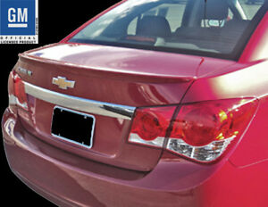 2011 2014 Chevrolet Chevy Cruze Painted Lip Spoiler Gm Official