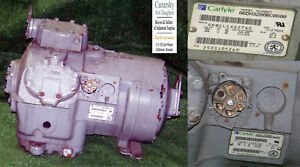 1 Used Carlyle 06dh3280bc0600 15 Ton Compressor make Offer