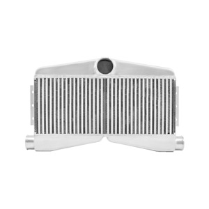 Cxracing Twin Turbo Intercooler For Mustang Camaro 2in 1out