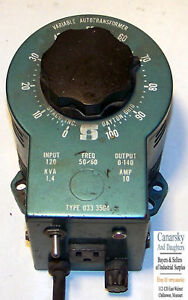 1 Used Staco Type 033 3504 Variable Autotransformer make Offer