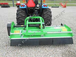 Flail Mower Mulcher Peruzzo Elk 2000 79 Cut Manual Left Right Side Offset