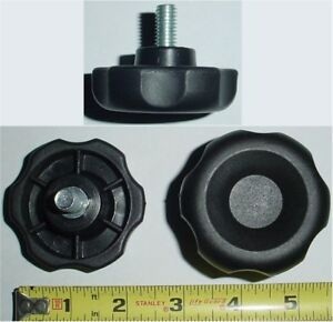 10 Ea 3 8 16 X 3 4 Long Plastic Lobe Turn Knob
