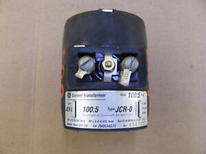 Ge General Electric Current Jcr 0 100 5 Ratio 750x34g71