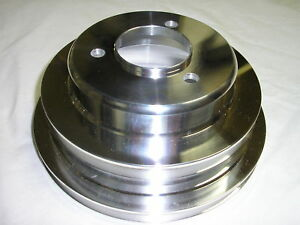 Big Block Chevy Crankshaft Crank Pulley 396 454 Bbc Lwp