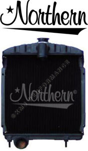 Northern 219549 Radiator A B Bn Super Av Av 1 International Ih Farmall 58124dbx