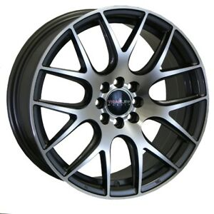 17 Traklite Limiter Wheels 4x100 Rim Integra Civic Mini