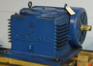 Cleveland 58 1 Worm Gear Speed Reducer 0147dc