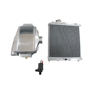 12 Liquid To Air Intercooler Heat Exchanger Water Pump