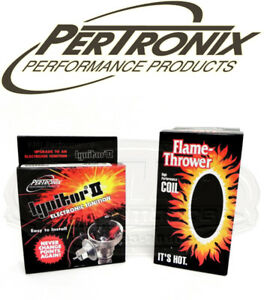 Pertronix Ignitor Ii Module Coil For Delco V8 Chevy Ih Olds Points Distributor