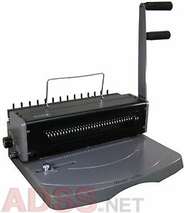 Heavy Duty 3 1 Wire Binding Machine With Wire Closer