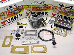 Mazda B2000 B2200 Pickup Weber Carburetor 32 36 K675m Manual Choke Kit