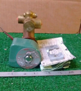 1 New Asco 8300c6f 3 way Solenoid Valve make Offer