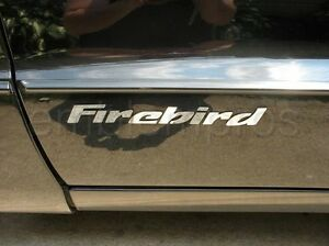 Gm Licensed 93 02 Firebird Door Emblems Overlays Mirror Stainless Steel
