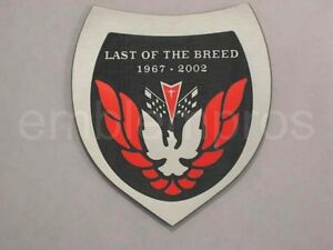 Gm Licensed Last Of The Breed Lotb Emblem Badge Composite Choose Color