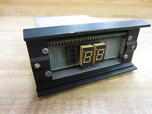 Cincinnati Electrosystems 4161 Display 7 Segment