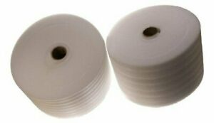 Two 376 Rolls Of 1 16 Thick Packaging Foam Wrap 12 Tall Free Shipping