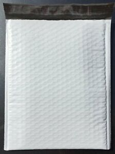 50 7 14 5 X 20 Poly Bubble Lined Mailer Envelopes Self Seal Free Shipping