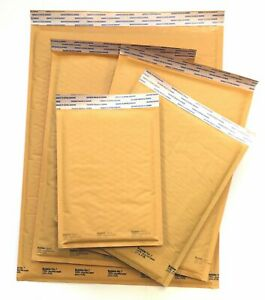 Kraft Bubble Mailer Combo Pack For Book Sellers 0 2 4 5 7 Free Ship