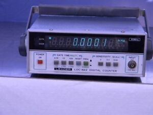 Leader Ldc822 Digital Frequency Counter 80mhz