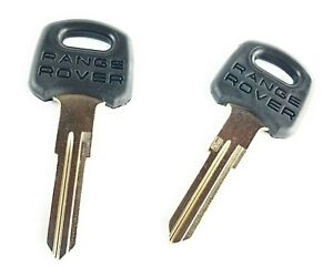 Set Of 2 Range Rover Classic Genuine Uncut Ignition Door Key Blanks Muc2153