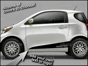 2012 And Up Scion Iq Custom Vinyl Decal Graphics Flair Rocker Side Stripes 1
