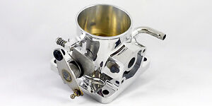 Accufab 70mm Mustang 5 0l Polished Throttle Body 302 1986 1993 V8 Gt Lx Cobra