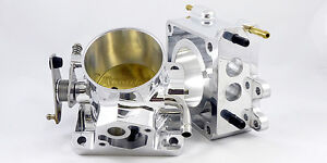 Accufab 75mm Mustang 5 0l Polished Throttle Body Egr Spacer Kit 5 0 302 Cobra
