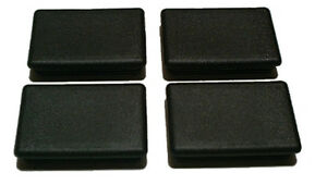 4 Black Truck Bed Stake Hole Cover Plugs Dodge Ram 1994 To 2010