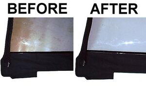 Soft Top Window Restorer Repair And Cleaner Polish Chevrolet Tracker