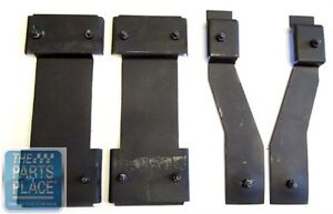 1965 70 Chevrolet Impala Bucket Seat Mounting Brackets 4 Piece Set
