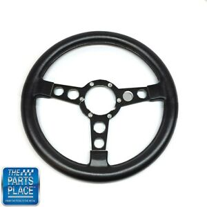 1970 81 Firebird Trans Am Formula Gto Steering Wheel Black Spoke Bare