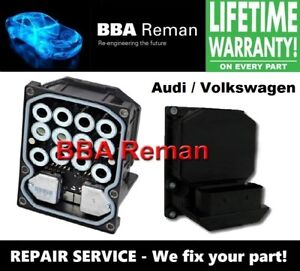 Audi Vw Bosch 5 7 Dsc Abs Brake Module Repair Service