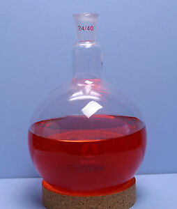 24 40 Round Bottom Boiling Flask 2000 Ml