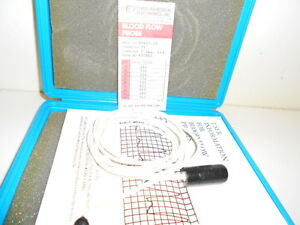 Good Used Carolina Medical Blood Flow Probe Ep407 5s Pv Connector 7 5mm Circle