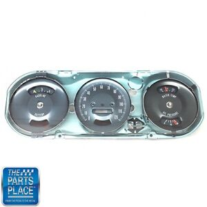 1967 Pontiac Gto Metal Rally Gauge Setup For Hood Tach Cars