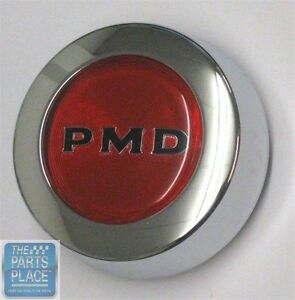 67 79 Pontiac Pmd Rally Ii Center Cap Red Snap On Style Each