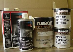 Auto Body Shop Paint Dupont nason Original Fleet White Basecoat Usc10 Clear Kit