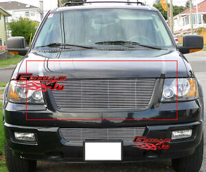 Fits 2003 2006 Ford Expedition Main Upper Billet Grille Insert