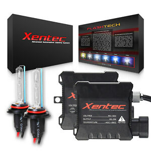 Xentec Xenon Light Hid Kit 40000lm H3 H4 H7 H10 H11 H13 9006 Headlight Foglight