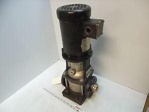 Grundfos Crn5 2 u fgj g v 30 gpm Vertical Multistage Centrifugal Pump bad Seals