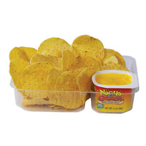 Nacho Cheese Trays W 2 Compartments