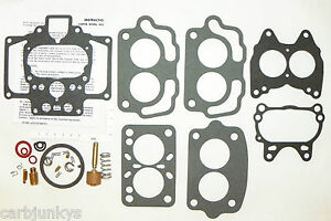 Carburetor Repair Kit Carter 2b C 2 Amc Buick Cadillac Jeep Willys 15385