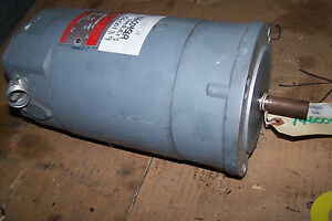Ge 1 2 Hp Dc Electric Motor 90 Arm Volts 1725 Rpm 56c Frame 5bd56md11a