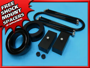 3 Inch Front 2 Inch Rear Black Billet Lift Kit 1997 2003 Ford F 150 2wd