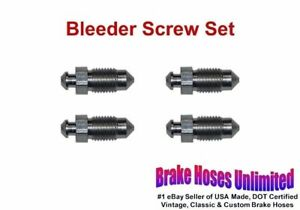 Bleeder Screw Set Chrysler 1928 1929 1930 1931 1932