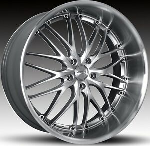 20 Mrr Gt1 Staggered Wheels 5x114 3 Rim Fits Infiniti G35 Mustang Nissan 350z