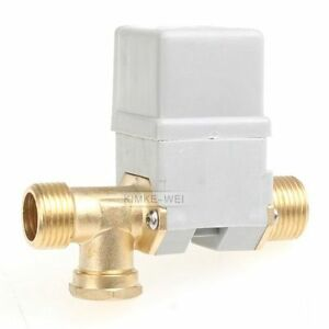 Electric Solenoid Valve For Water Air N c 12v Dc 1 2